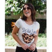 T-Shirt Pedrarias Wild Love MDQ 40