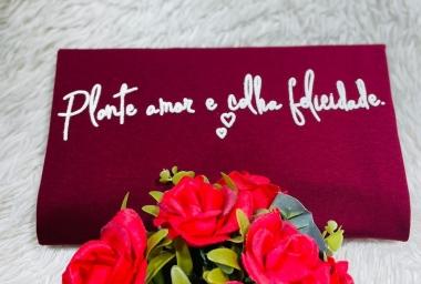 T-Shirt Plante Amor WGR 13 - Marsala