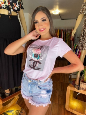 T-Shirt Premium Chan Rosas FVT 14
