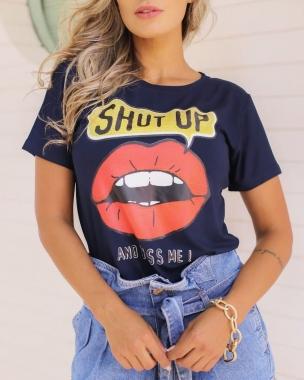 T-Shirt SHUT UP Boca GBB 236