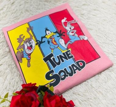 T-Shirt Tune Squad WGR 05 - Rosa