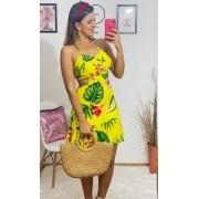 Vestido Babado Sunflair YCK 19