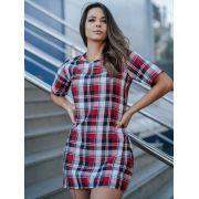 Vestido Flanelado Cg 001