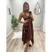 Vestido Indian Lenço VIN 23