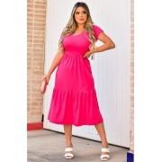 Vestido Manguinha Braga MLL 342