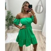 Vestido Ombro Elastex JAN 180 Verde