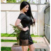 Vestido Recorte V MBL 4068