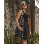 Vestido Regata Lateral Floral JEM 16