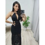 Vestido Rendado Black On PPL 188