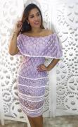 Vestido Tricô Ciganinha Ajm 16