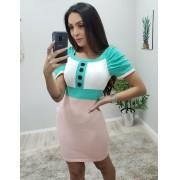 Vestido Tricô Tumblr JNF 308 Ros