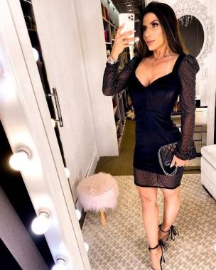 Vestido Velvet Aplique BJD 37