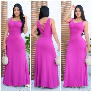 Vestido Viscol. Falesias RDV 118 - Pink