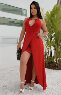 Vestido Viscolycra After RDV 110 - Vermelho