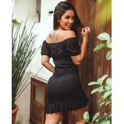 Vestido Ciganinha Black MLL 312