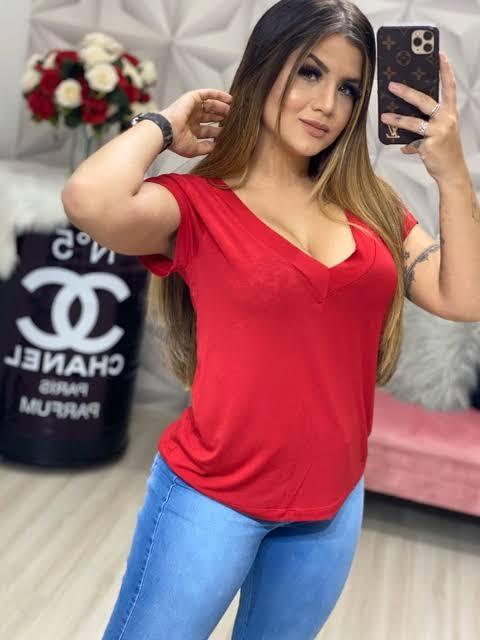 Blusa Podrinha VVP 01 - Vermelho