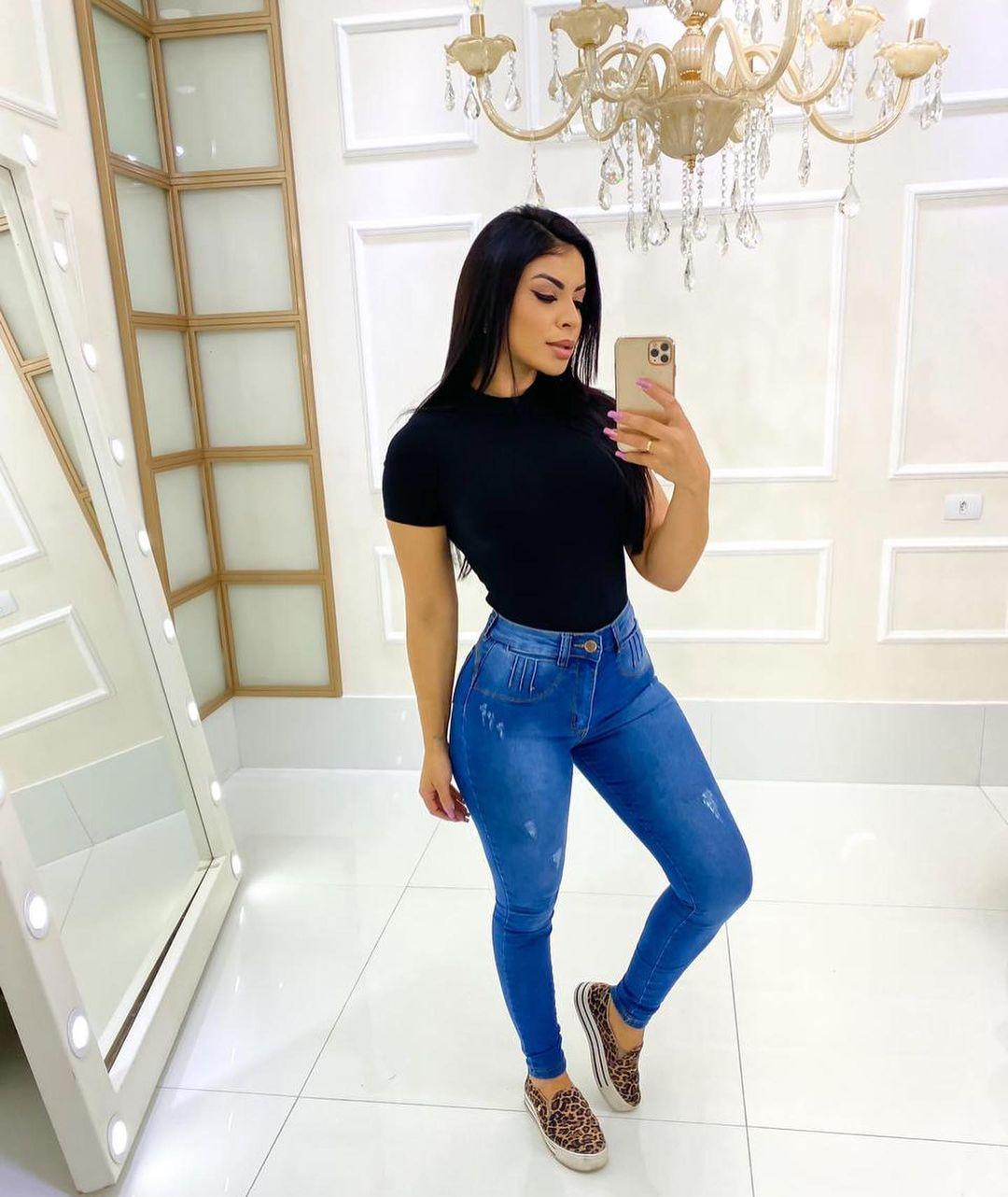Calça Jeans Puídos MLD 9913