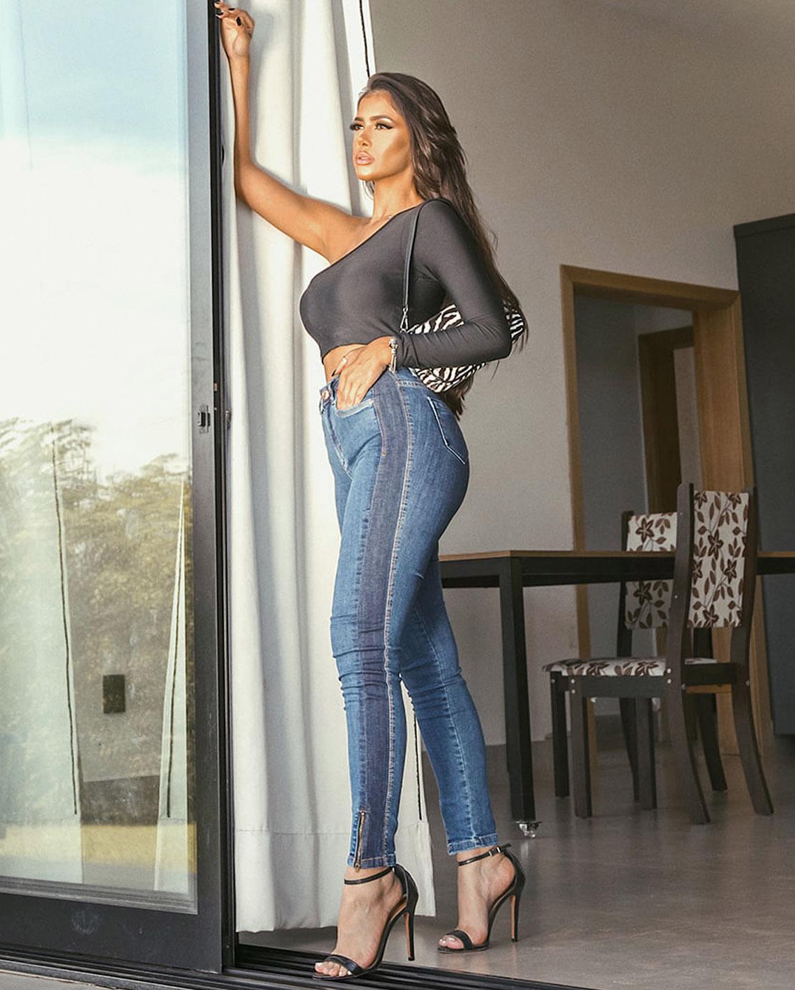 Calça Jeans C/Elastano CNS 20592