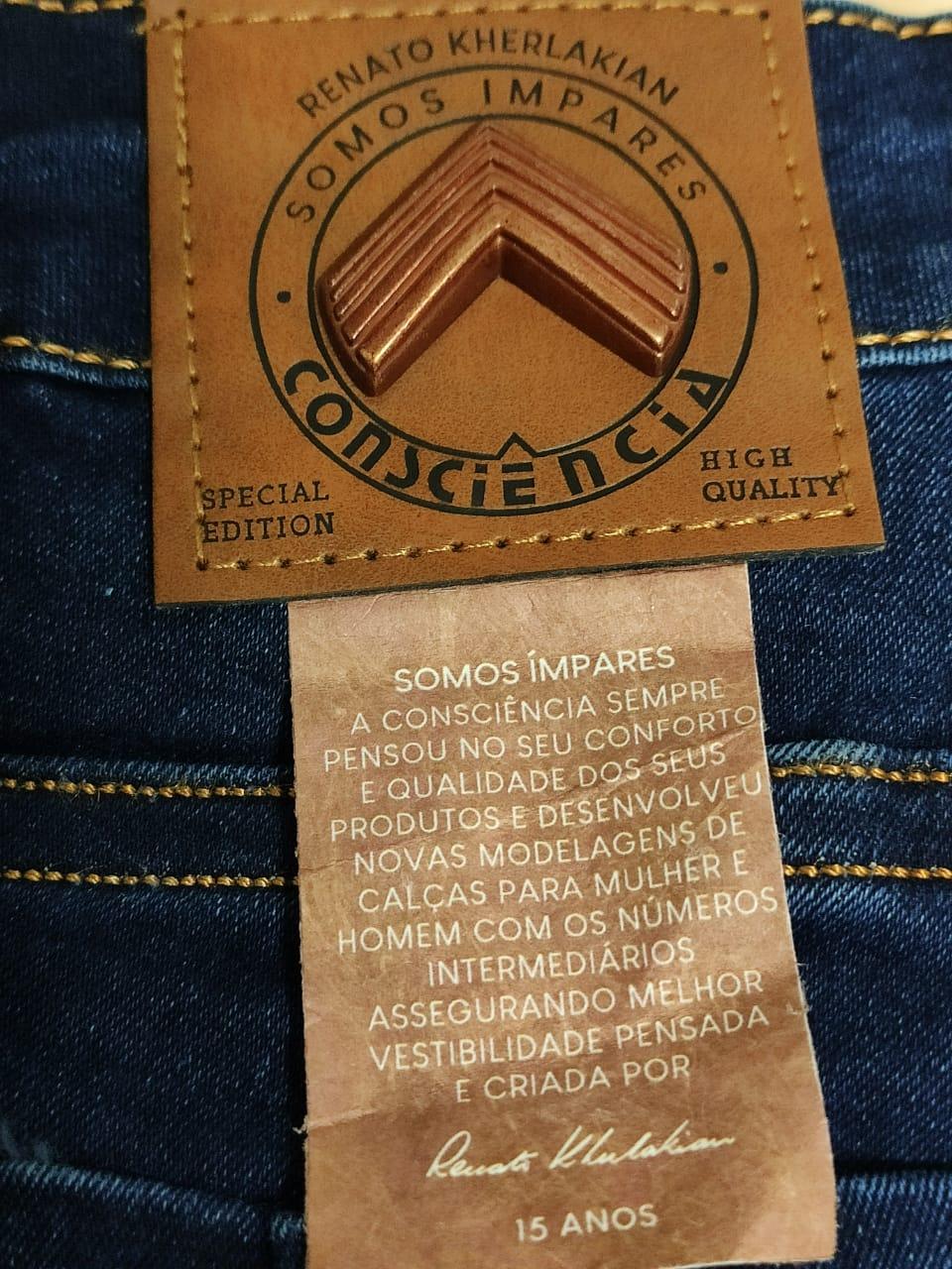 Calça Jeans Coleção Renato Kherlakian CNS 18009
