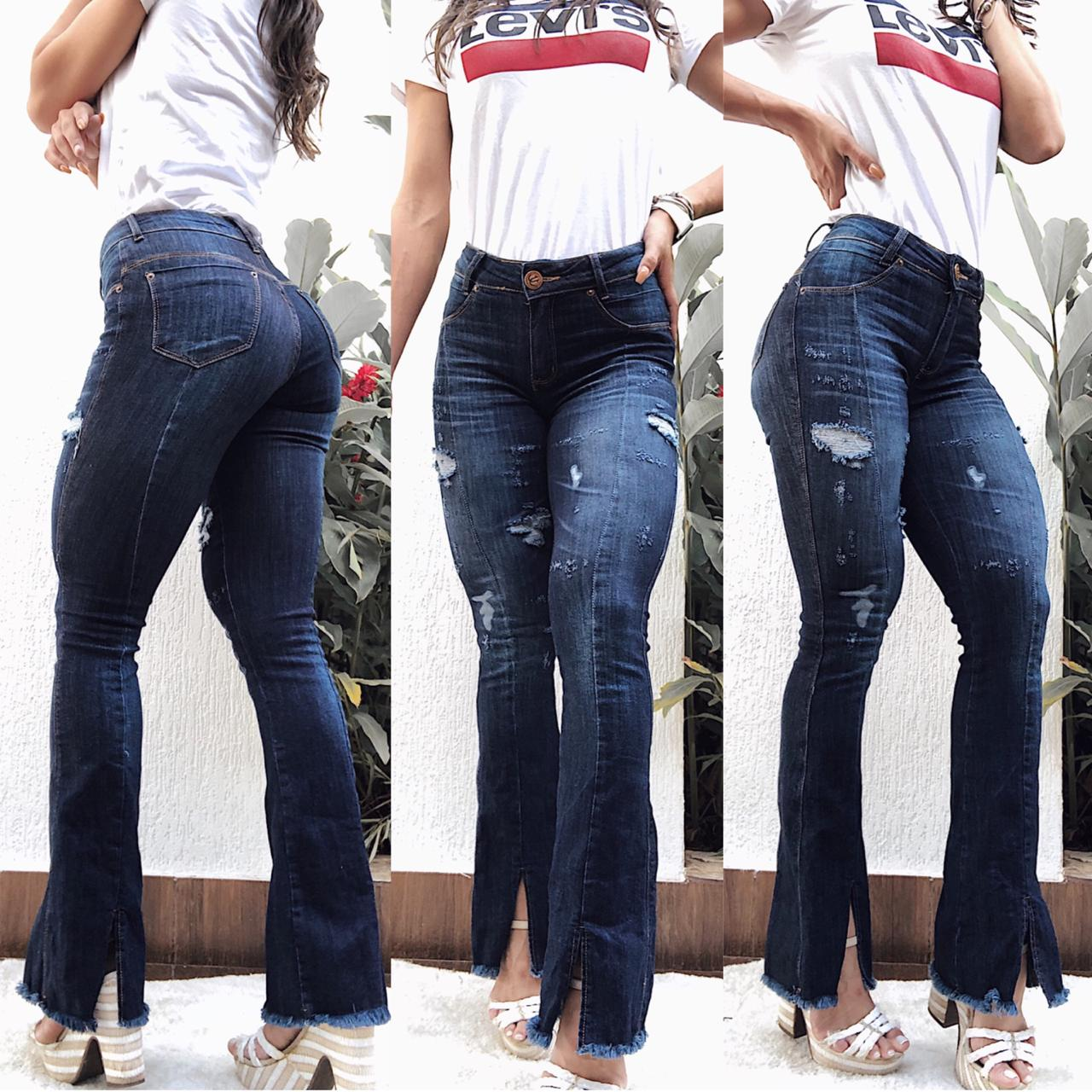 Calça Jeans Flare Tejota DLC 19