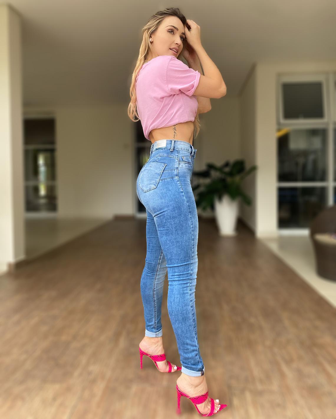 Calça Jeans Hot Fair Extreme Power CNS 20415