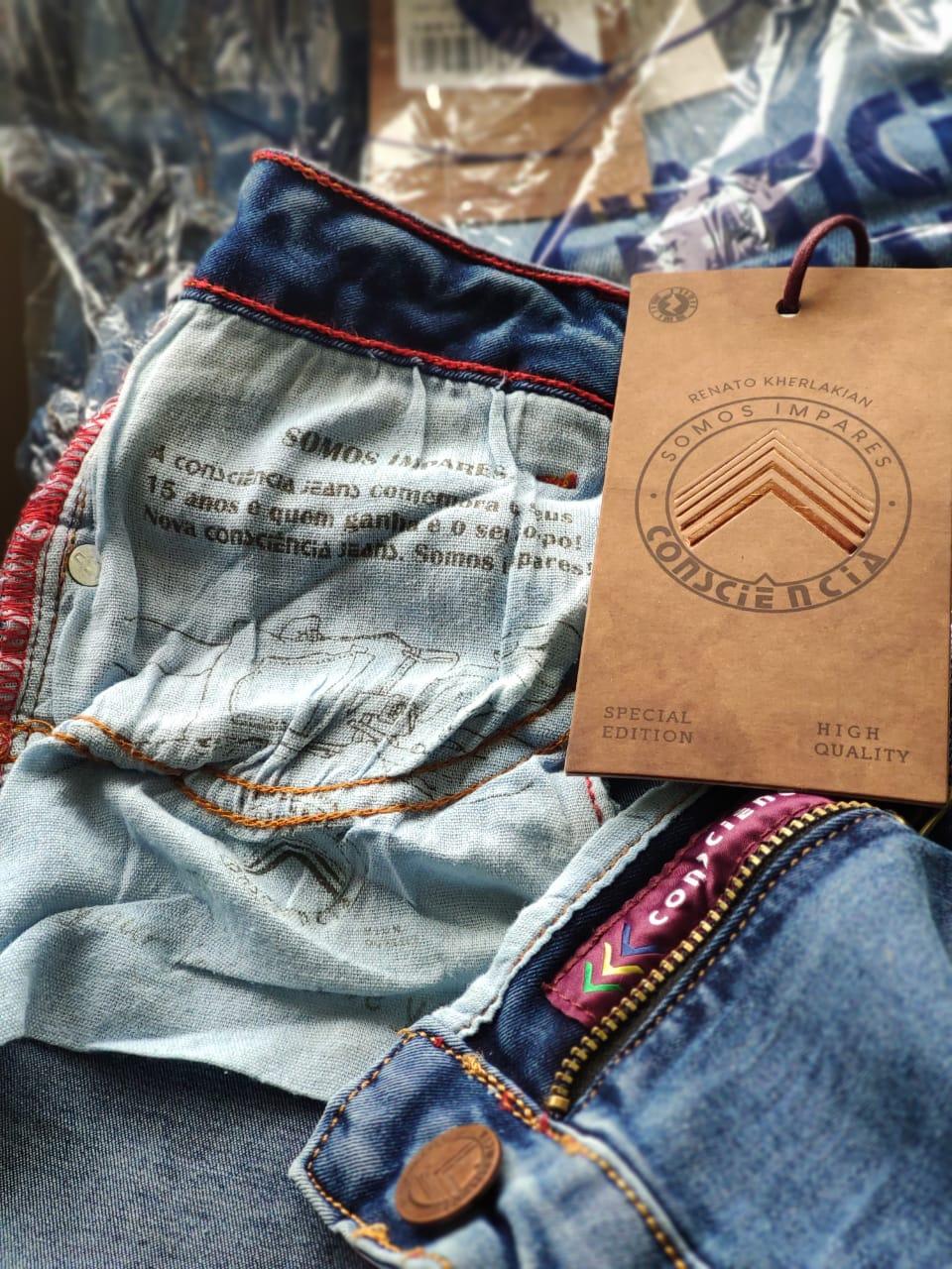 Calça Jeans Mom Coleção Rk CNS 18015 Clara
