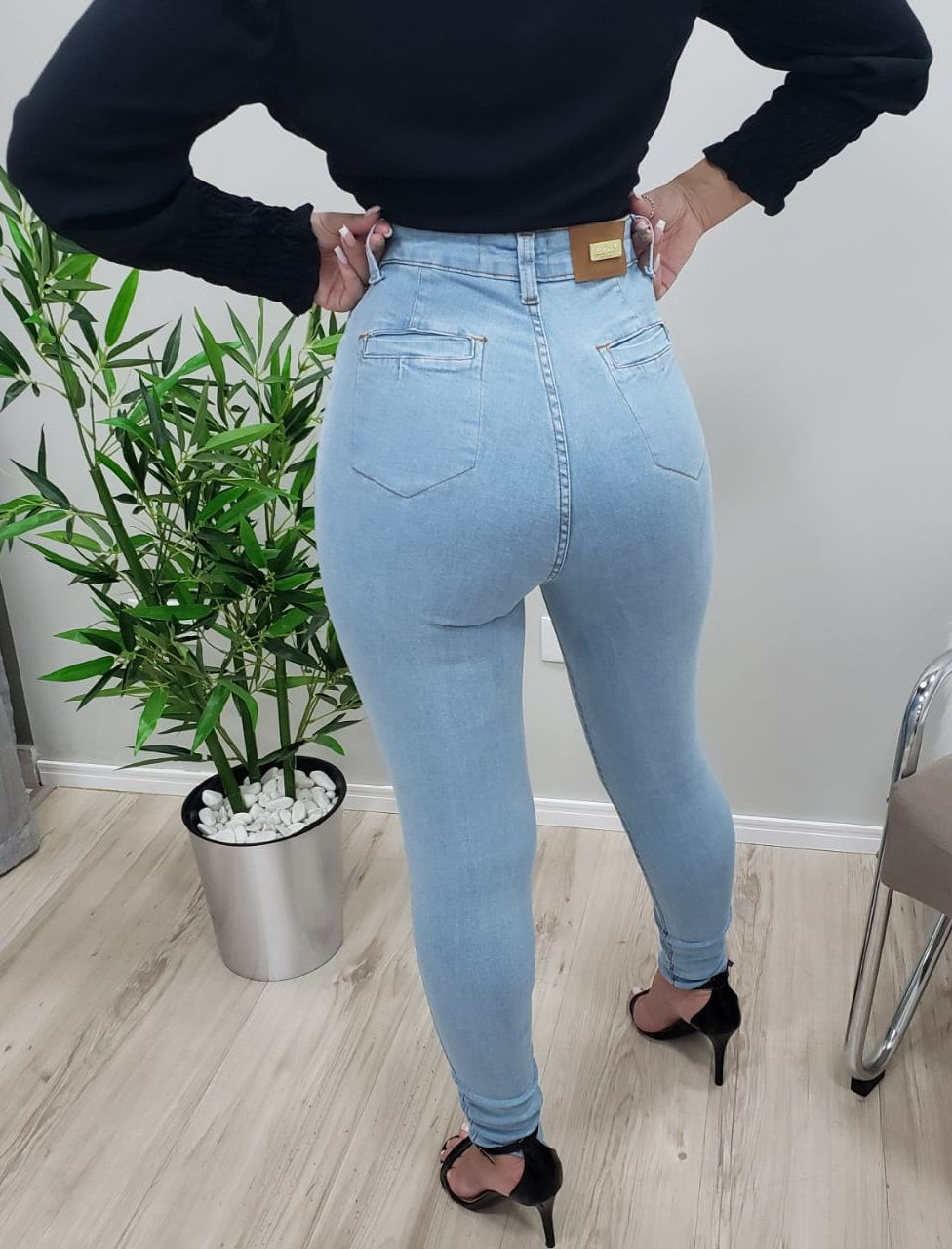 Calça Jeans Sal e Pimenta SPI 25