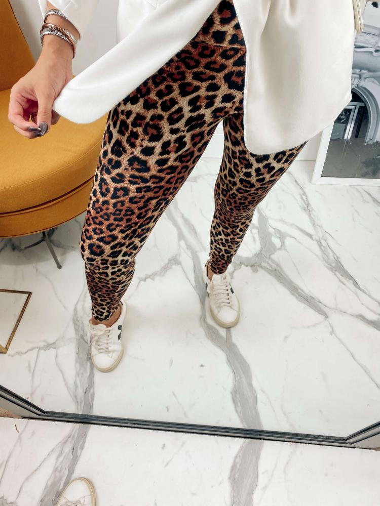 Calça Legging Básica TOD 17 Animal Print