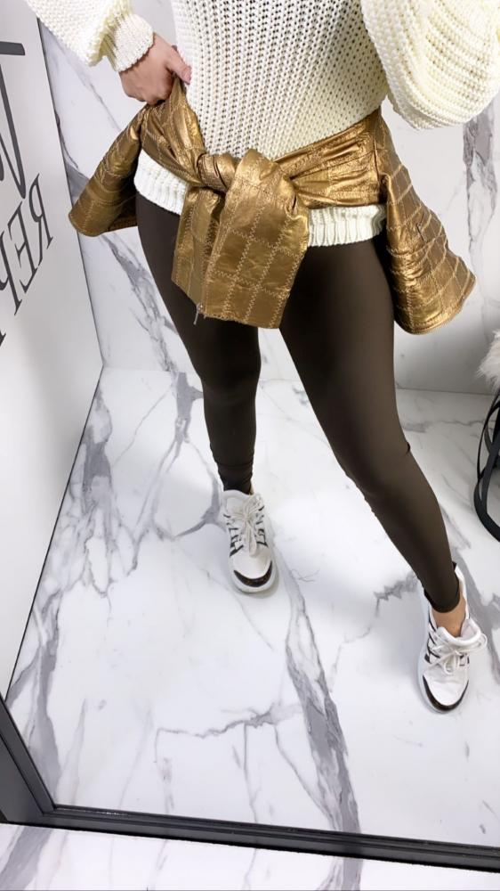 Calça Legging Básica TOD 17 Marrom