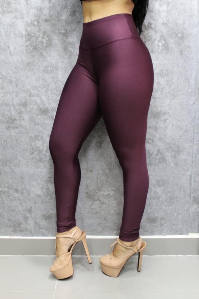 Calça Legging Básica TOD 17 Marsala