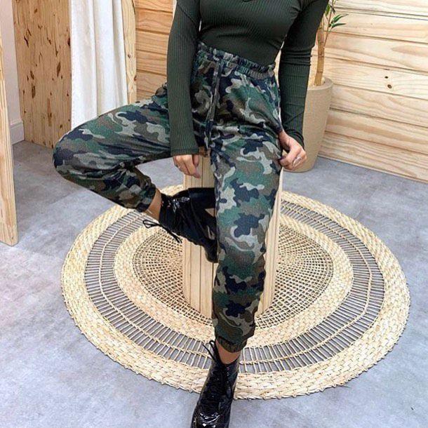 Calça Lurex Militar DLR 49
