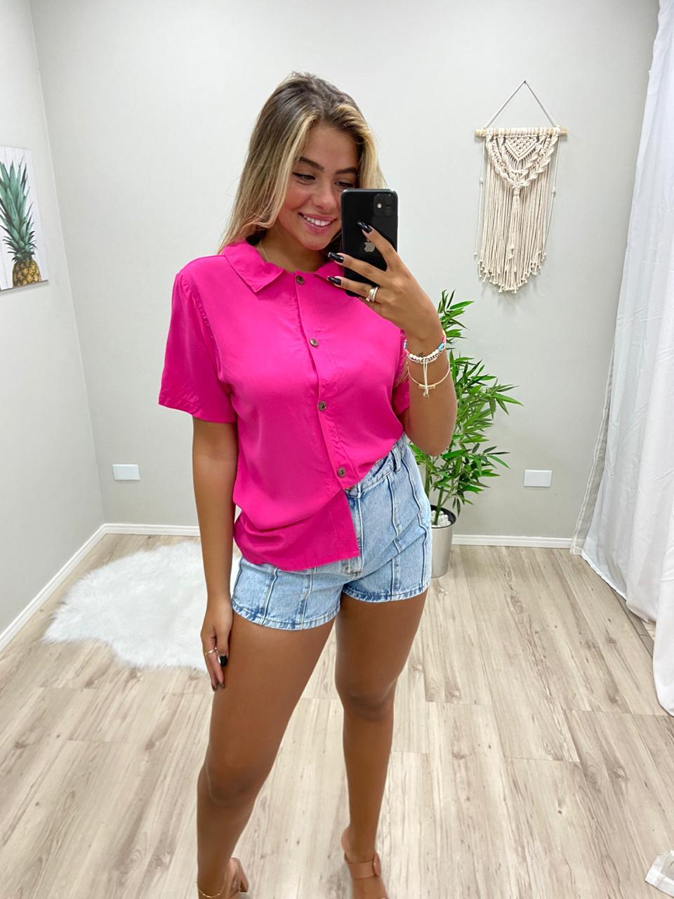 Camisa Viscolinho Amarração BWI 42
