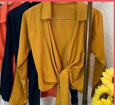 Cropped Camisa Amarração SHR 06