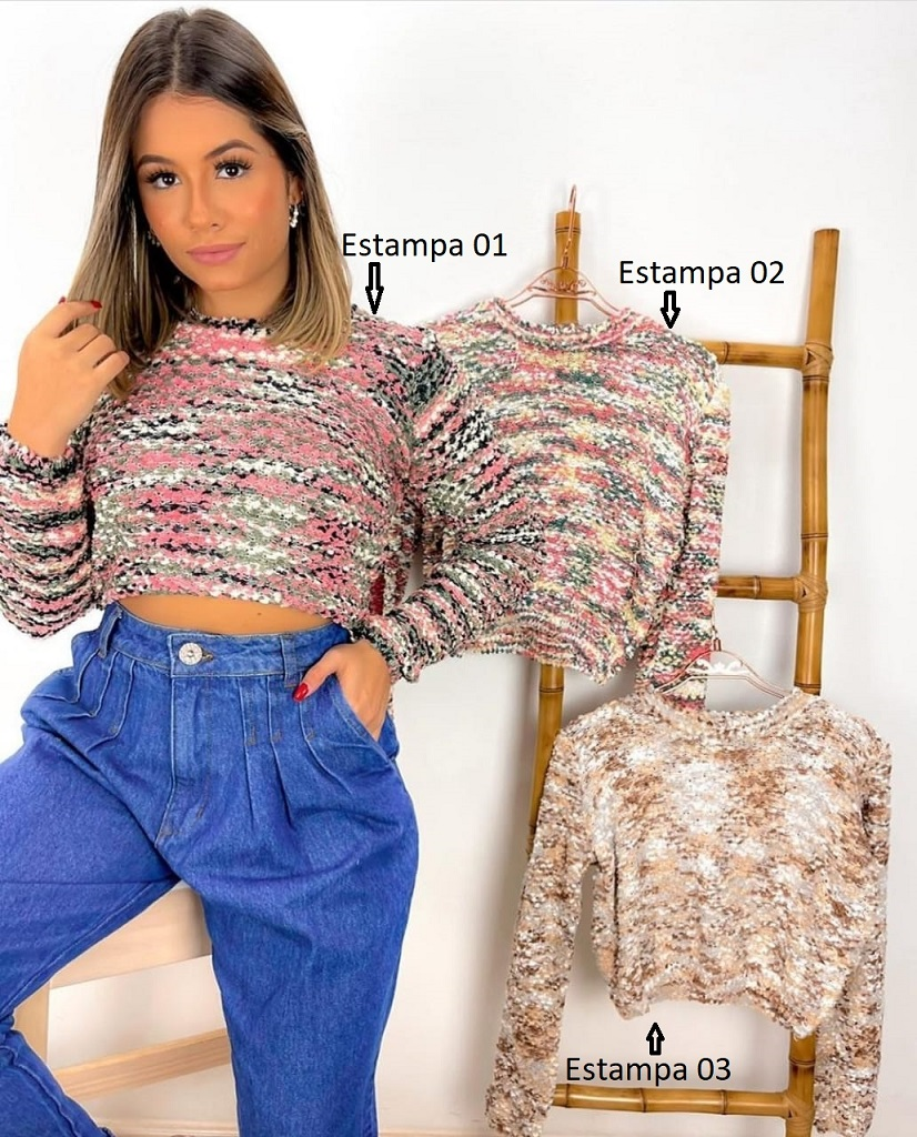 Cropped Floppy Color JNY 03