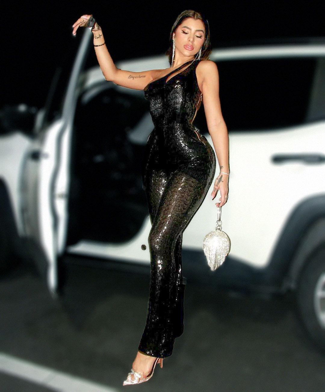 Macacão Kardashian DMY 383 - Preto