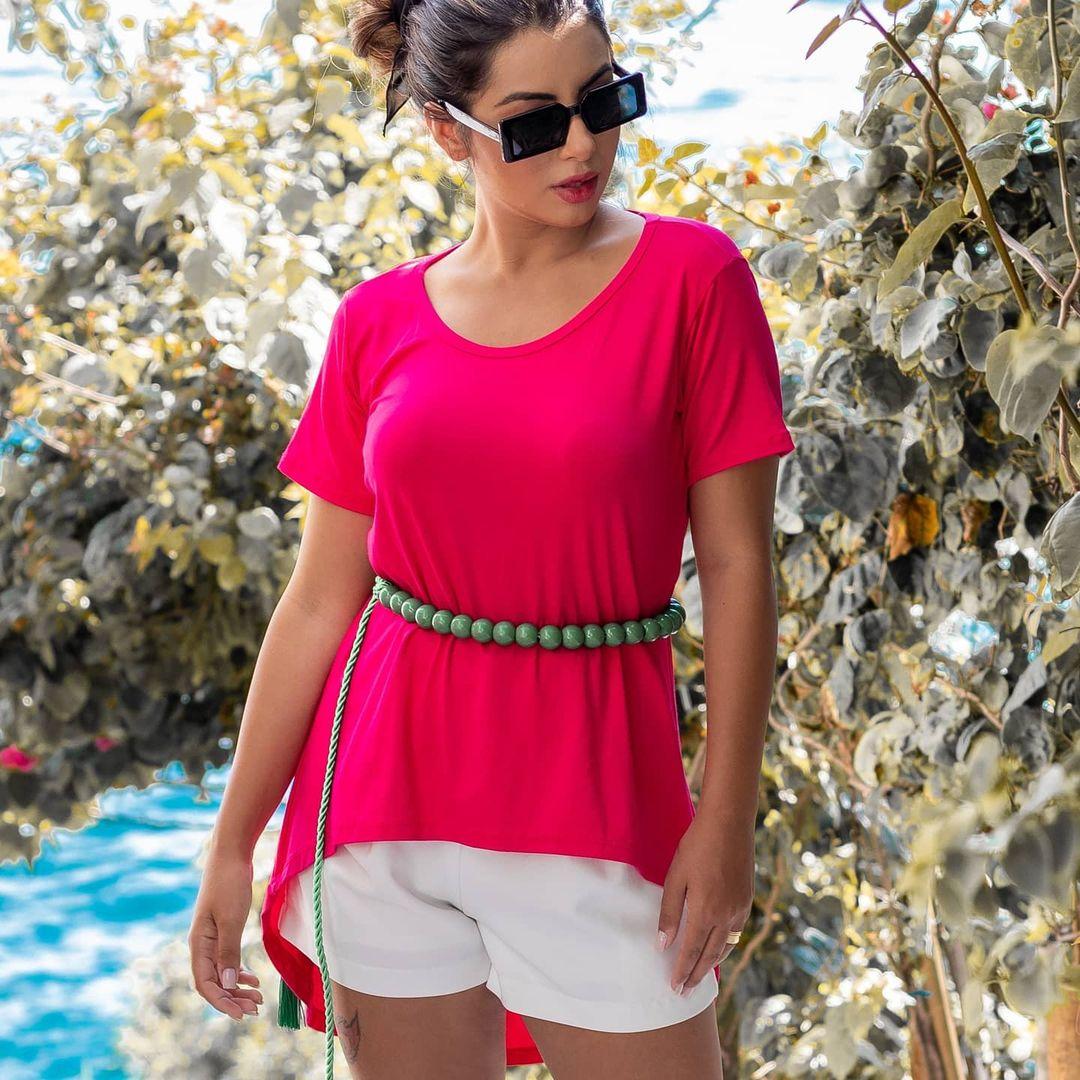 Maxi Camisetão Mullet ATN 64 pink