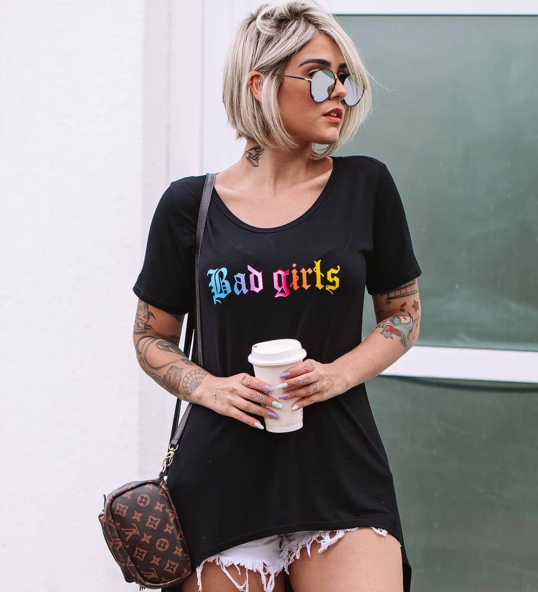 Maxi Camisetão Mullet Bad Girl ATN 67
