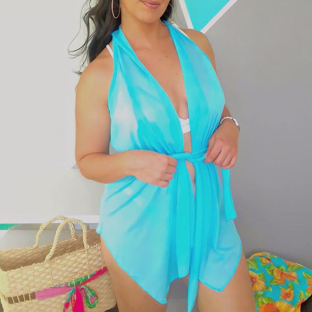 Saída de Praia Mini Vestido BEL 10 - Cores Variadas