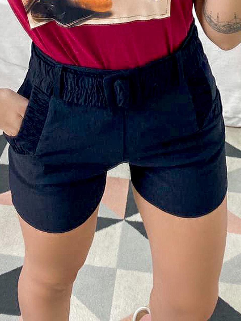 Shorts Bengaline com Cinto DUD 45