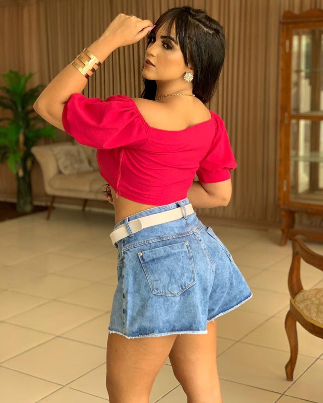 Shorts Godê Jeans Com Cinto MOB 01