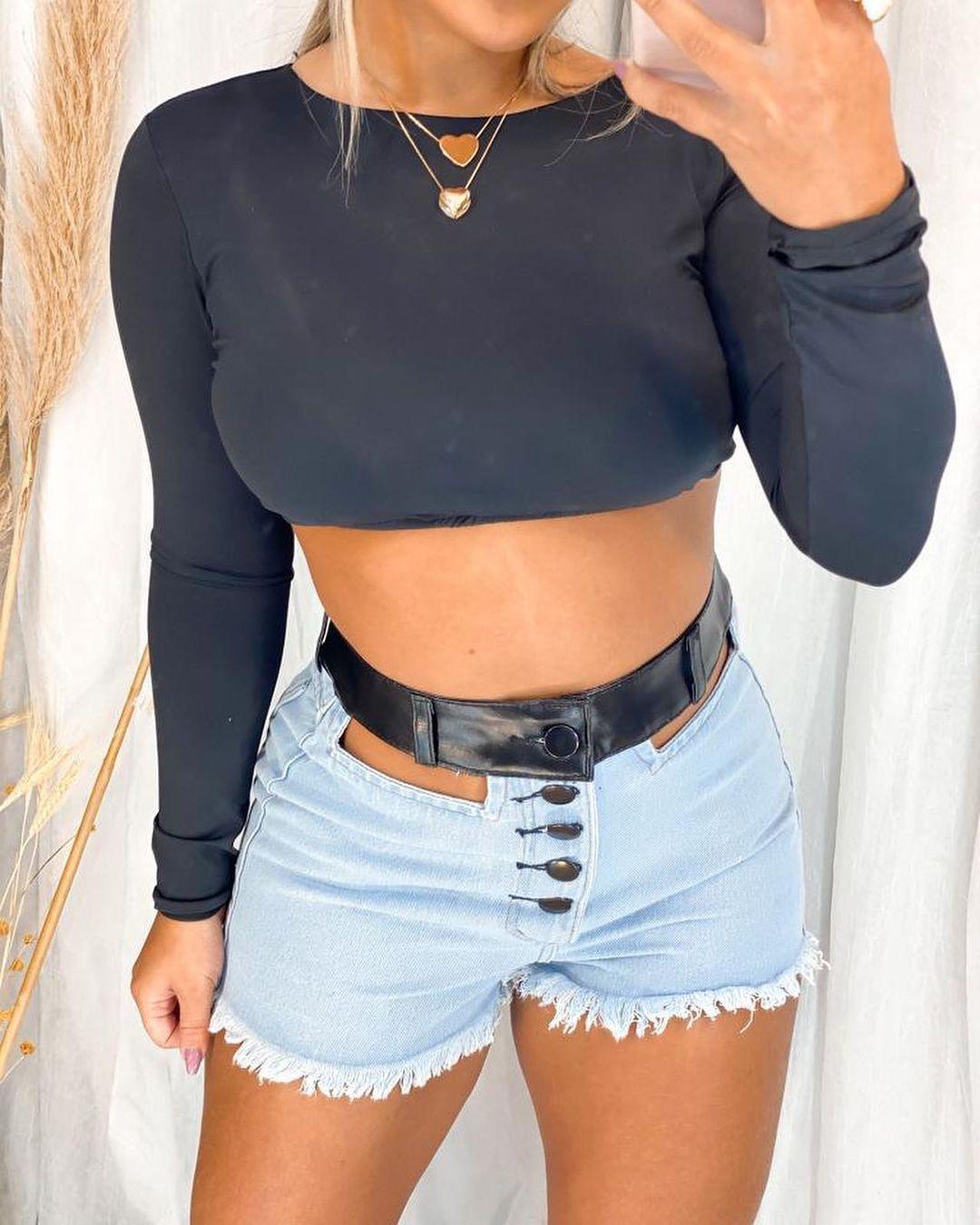Shorts Jeans Cós com Corino MAS 07