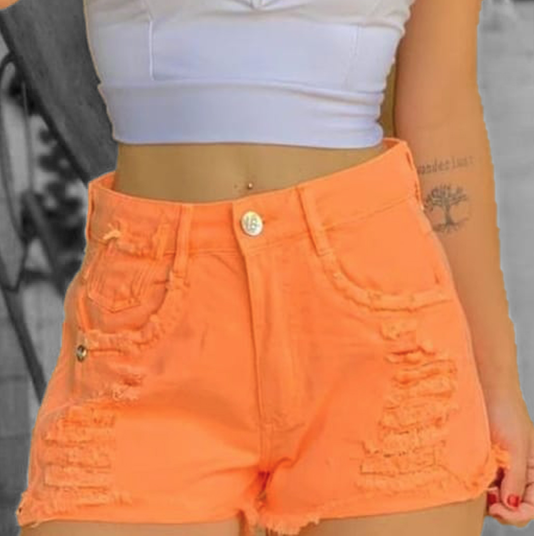 Shorts Neon Verão Carmen CCJ 447