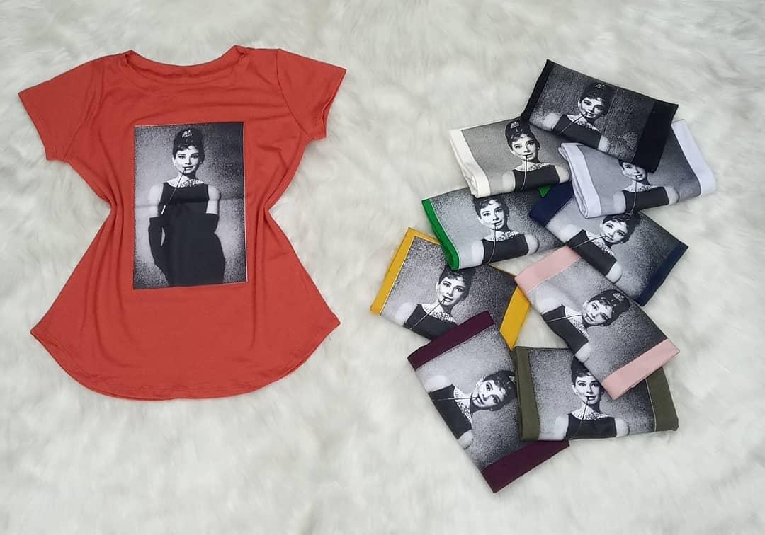 T-Shirt Audrey Hepburn LZG 04