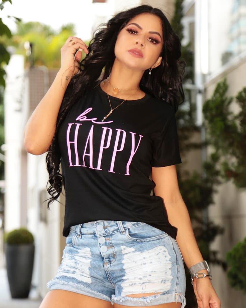 T-Shirt Be Happy GBB 180