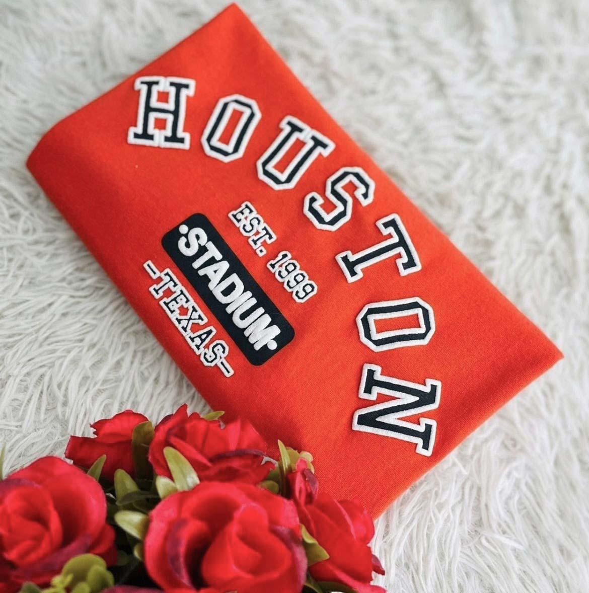 T-Shirt Houston WGR 37 - Laranja