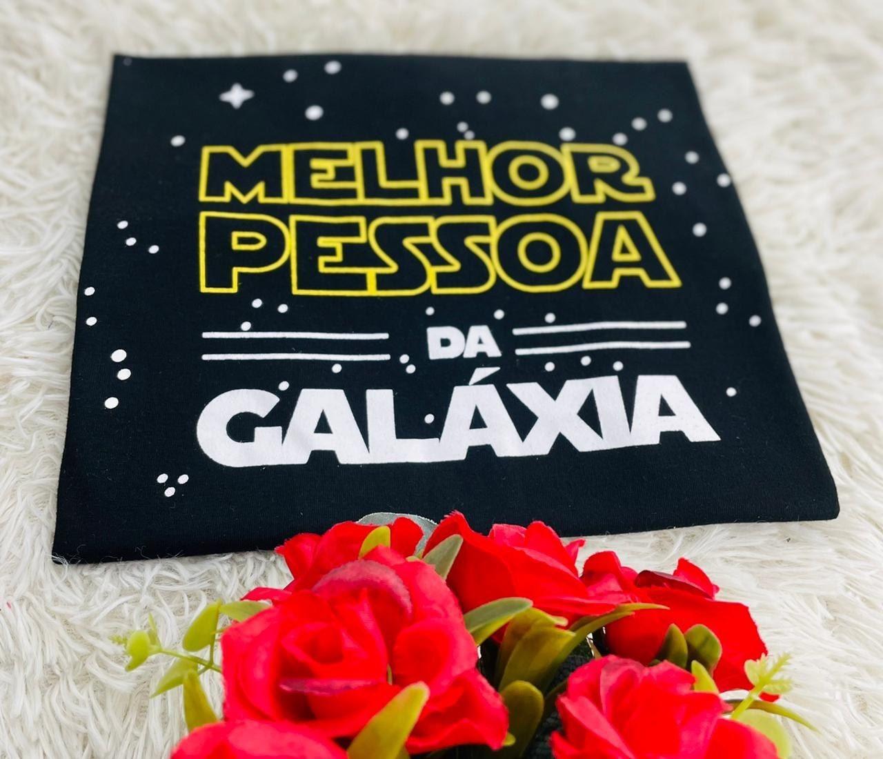 T-Shirt Melhor da Galáxia WGR 53 - Preto