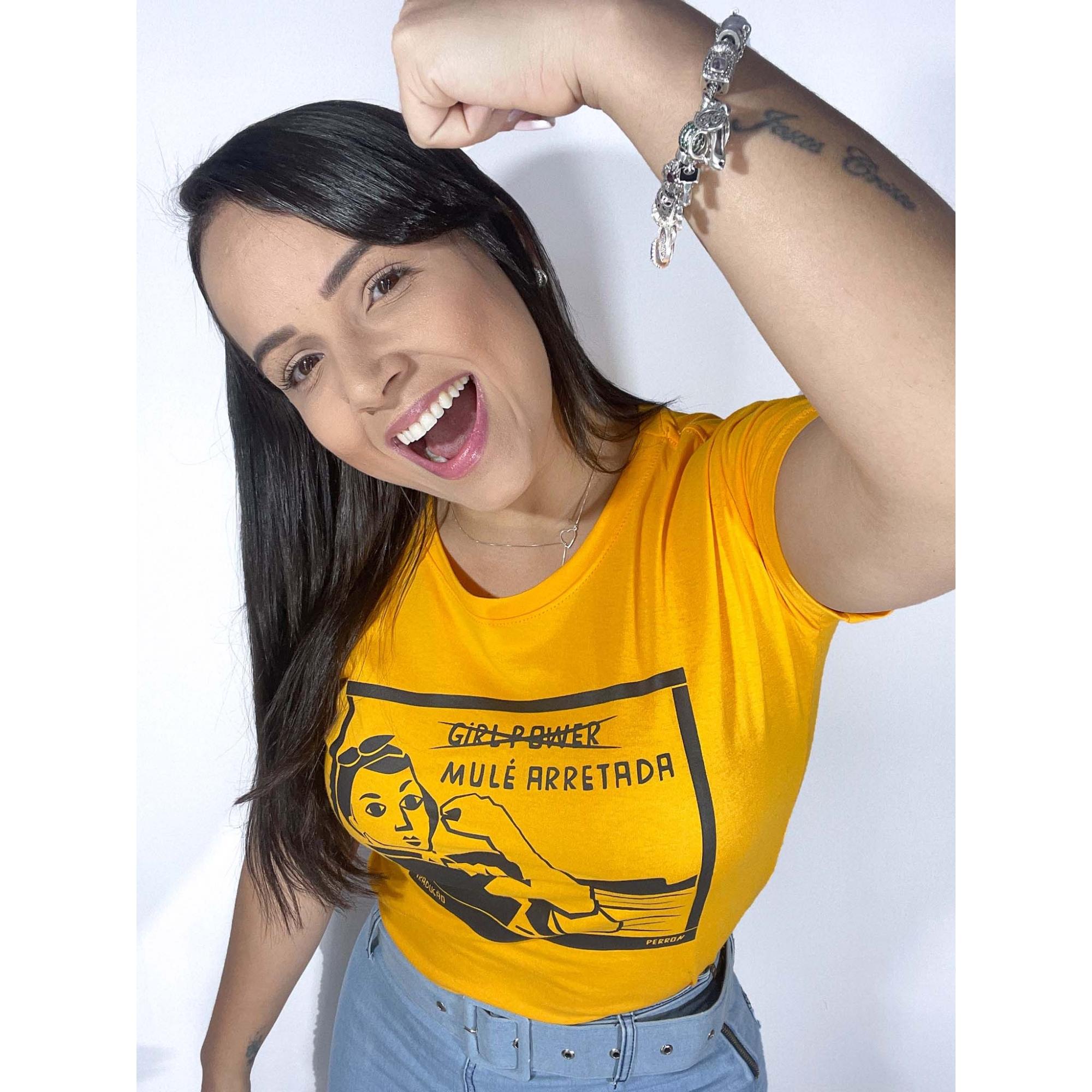 T-Shirt Mulé Arretada WGR 35 - Amarelo