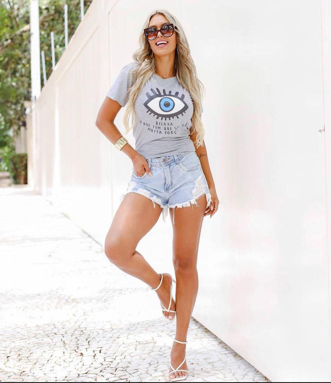 T-Shirt Olho Relaxa GBB 266