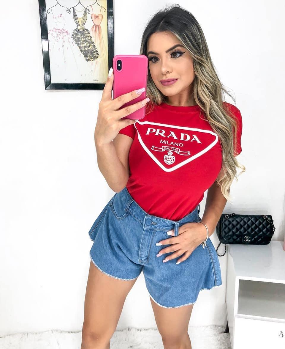 T-Shirt Prada Milano NIU 05
