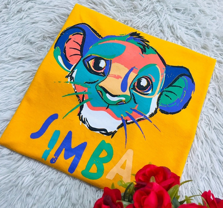 T-Shirt Simba WGR 16 - Amarelo